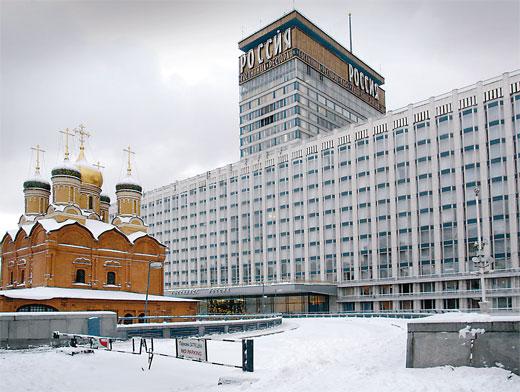 Отель в центре Москвы Кортъярд Марриотт Москва Центр