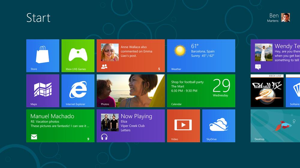 Windows 8 пуск скачать