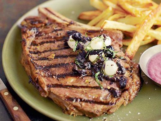 Замариновать мясо для стейка