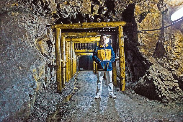 Игорь Витковский в Вацлавской шахте