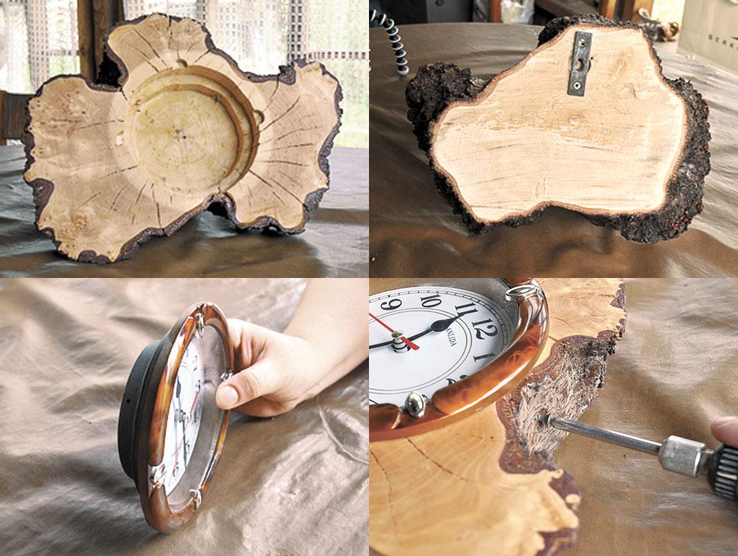 Как сделать спил дерева 120