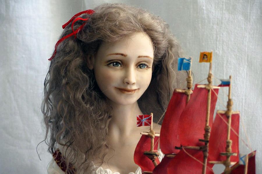 фото фарфоровых кукол ассоль один самых современных