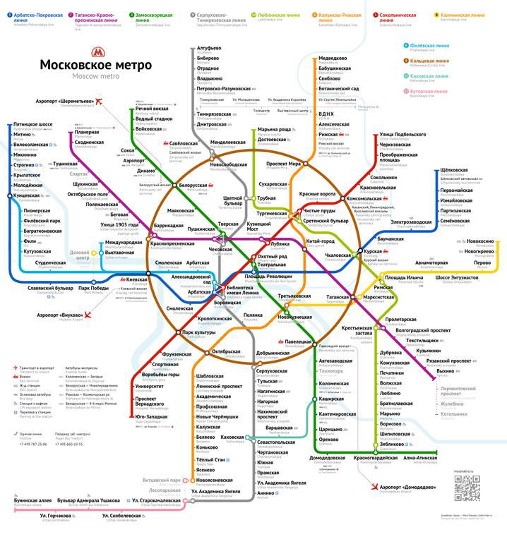 московского метрополитена.