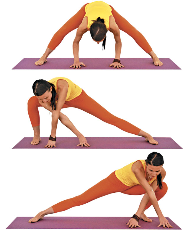 What are some good yoga exercises which must be practised daily for women? 41