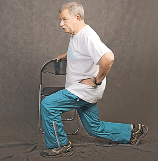 Укрепление позвоночника в пожилом возрасте