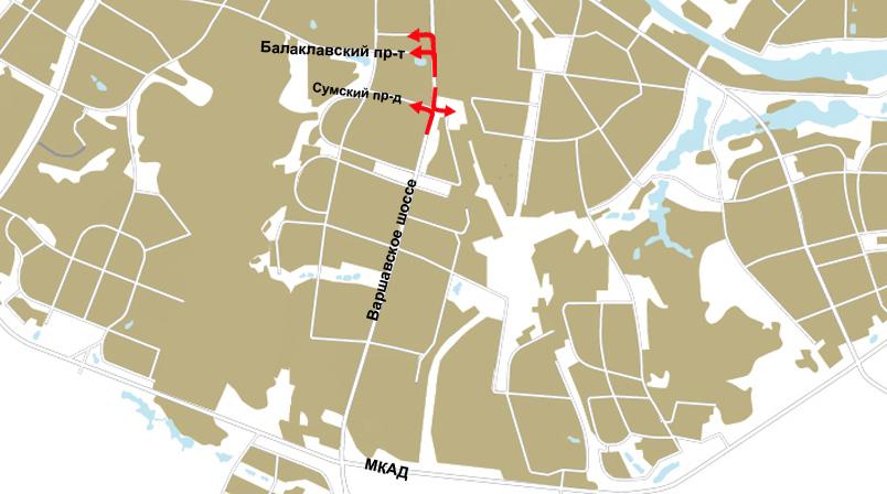 На нескольких перекрестках Варшавского шоссе изменена схема движения.  Москва, 7 июня - АиФ-Москва.7. в 14:19.