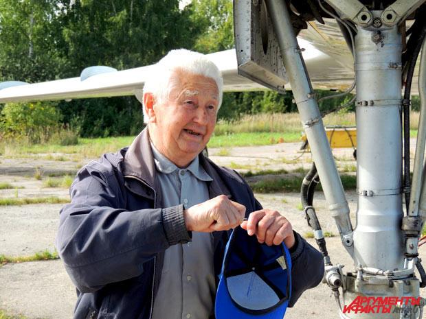 Рэм Чернышев: В полёте что только ни случалось